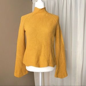 Cynthia Rowley mustard sweater
